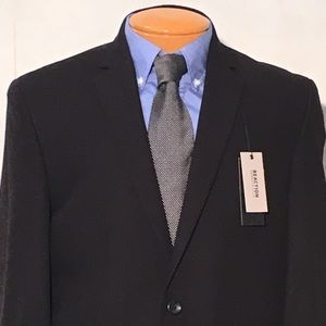 Reaction by Kenneth Cole black 42S jacket NWT